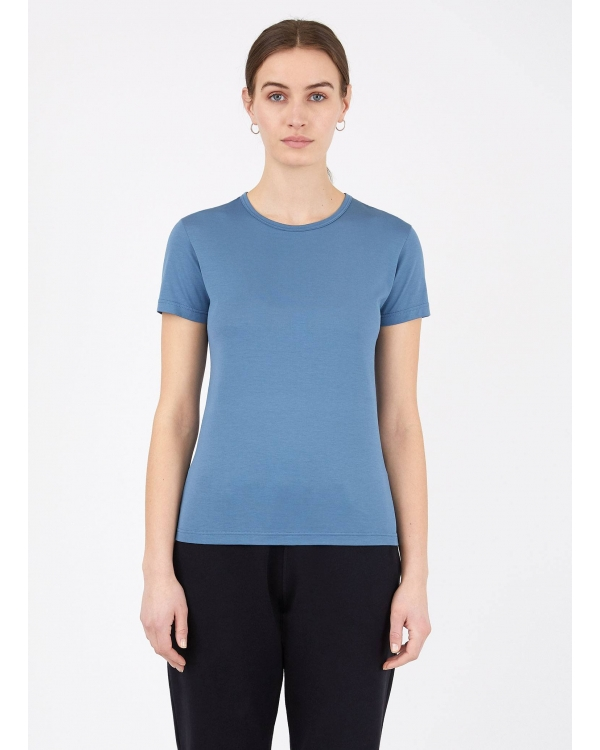 Women's Classic Cotton T-shirt in Airforce