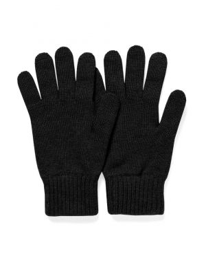 Cashmere Gloves in Black
