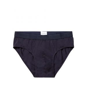 Men's Stretch Cotton Briefs in Navy