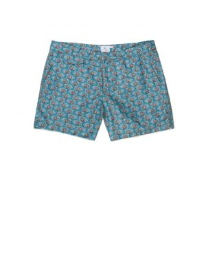 Men's Printed Swimshorts in Liberty Print