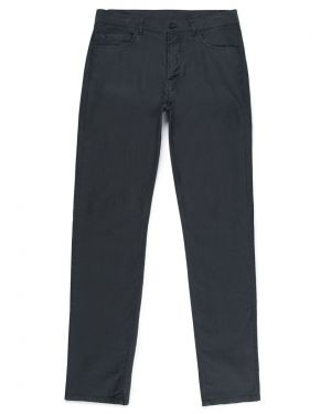 Men's Bedford Cord 5 Pocket Trouser in Charcoal