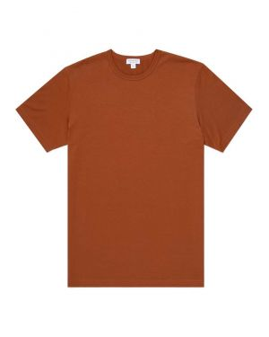Men's Classic Cotton T-Shirt in Spice