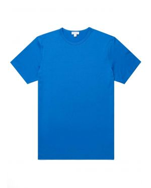Men's Classic Cotton T-Shirt in Booth Blue
