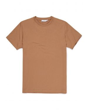 Men's Cotton Riviera T-Shirt in Camel