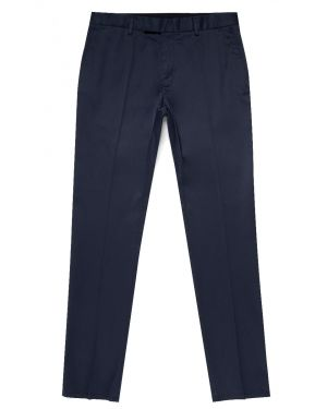 Paul Weller for Sunspel Men's Supima Cotton Straight Leg Trouser in Navy