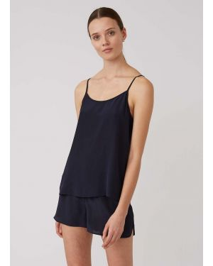 Women's Silk Cami in Navy