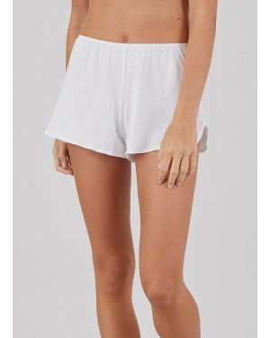 Women's Superfine Cotton French Knickers in White