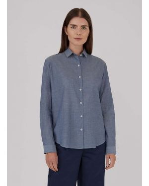 Women's Chambray Shirt in Blue