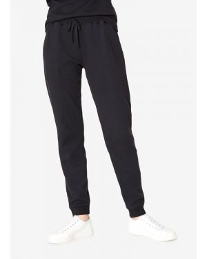 Women's Cotton Cellulock Track Pants in Black