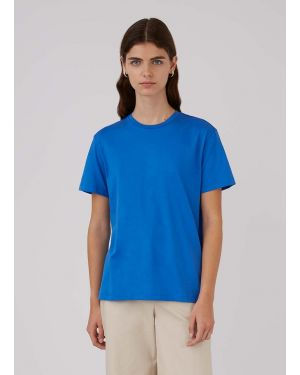 Women's Organic Cotton Boy Fit T-Shirt in Booth Blue