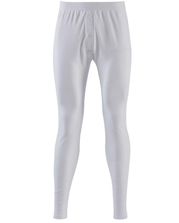 Men's Thermal Long Johns in White