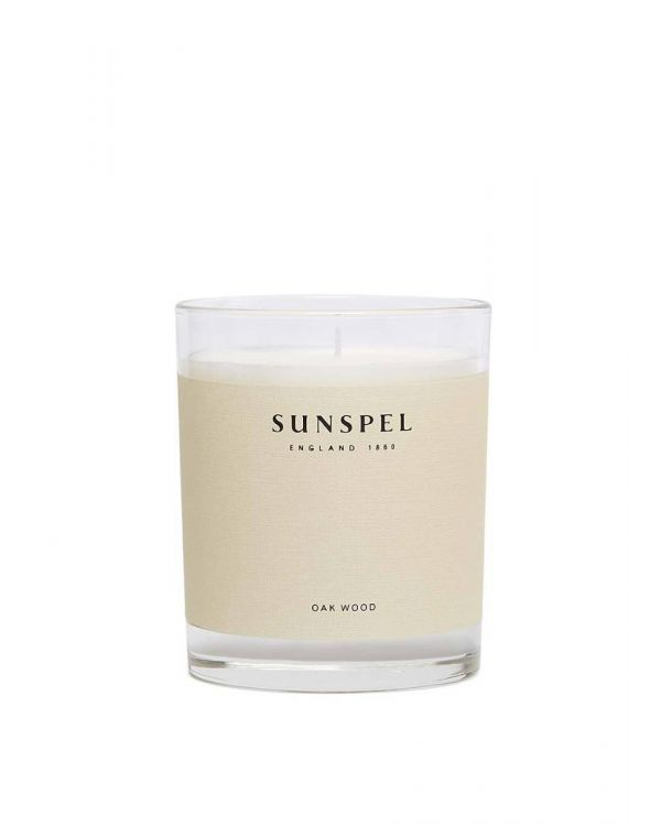 Sunspel Oak Wood Candle 185g