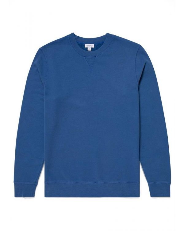 Men's Cotton Loopback Sweatshirt in Ink