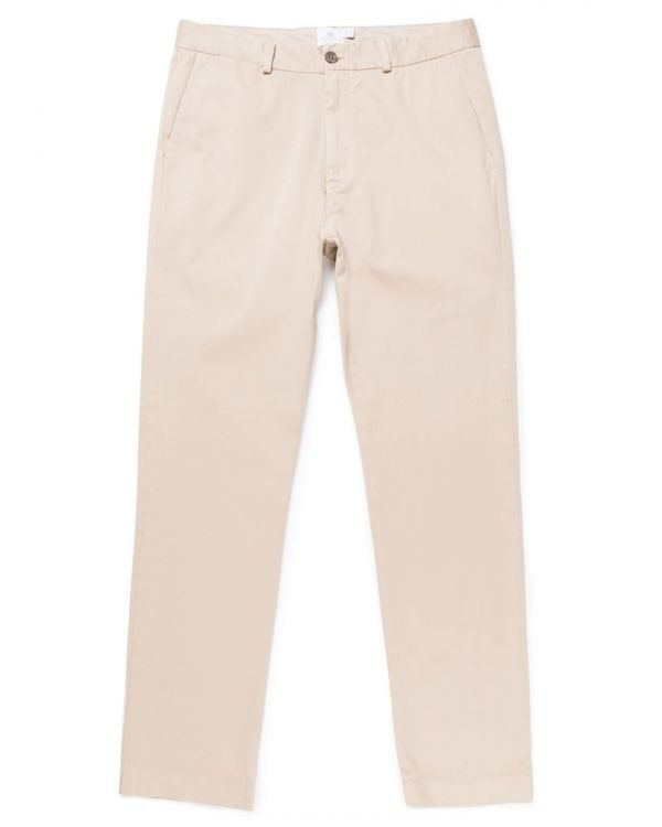 Men's Regular Fit Chino in Light Stone