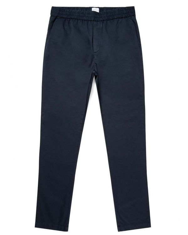 Men's Cotton Twill Drawstring Trouser in Navy