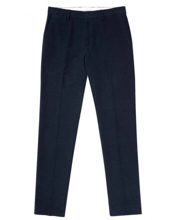 Men's Moleskin Slim Fit Trouser in Navy