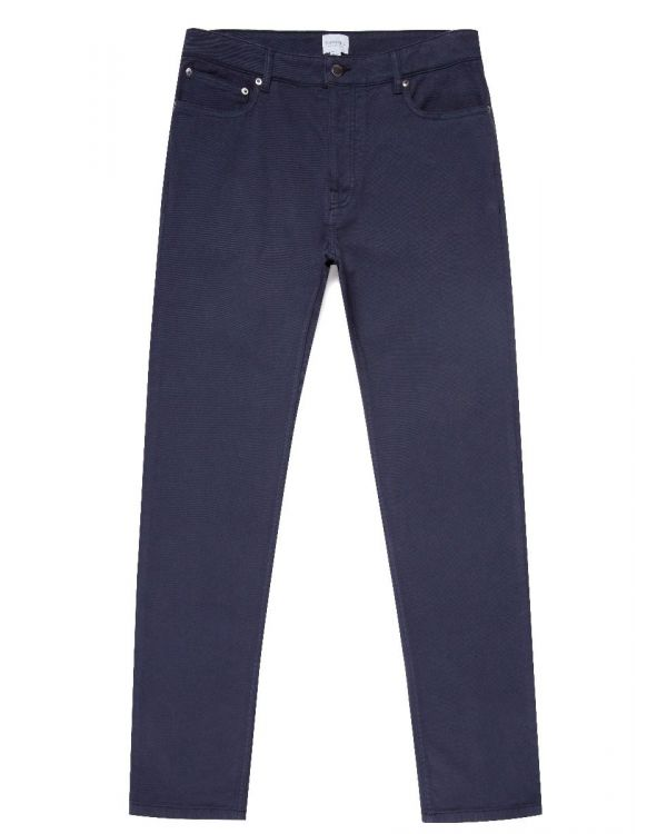 Men's Cotton Twill 5 Pocket Trouser in Navy