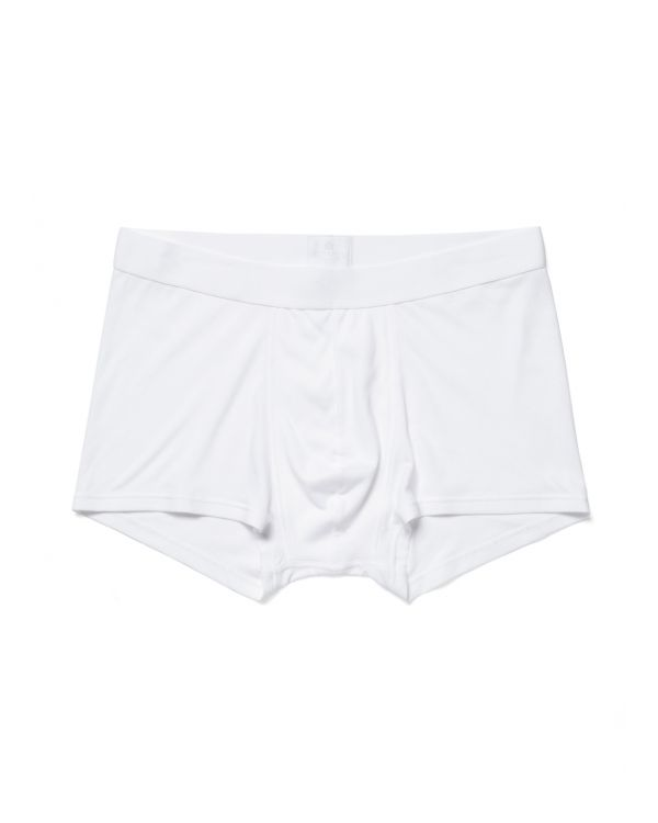Men's Sea Island Cotton Trunks in White