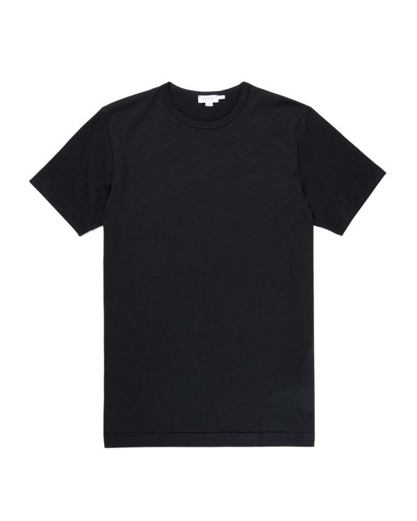 Men's Classic Cotton T-Shirt in Black