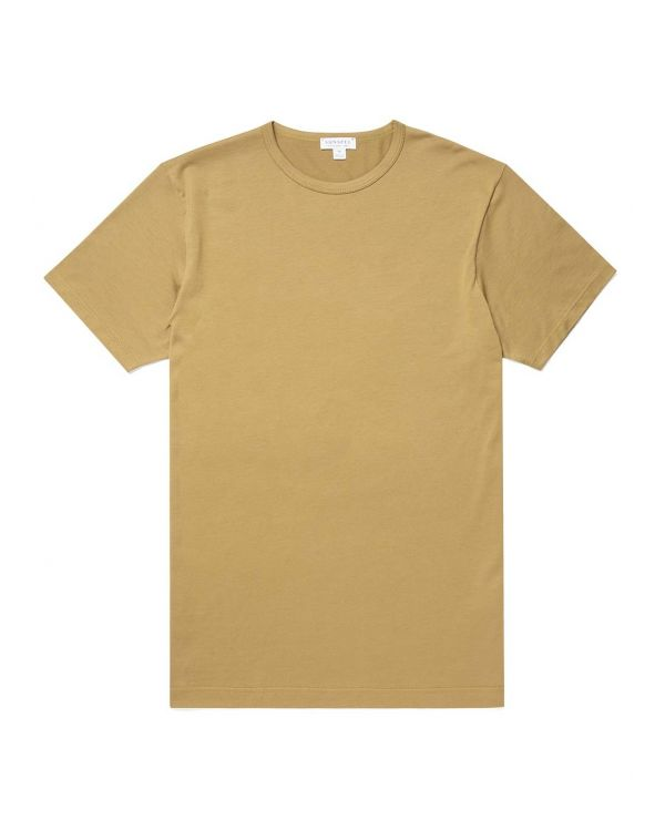 Men's Classic Cotton T-Shirt in Olive