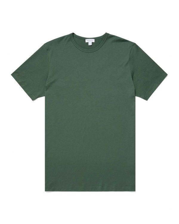 Men's Classic Cotton T-Shirt in Pine