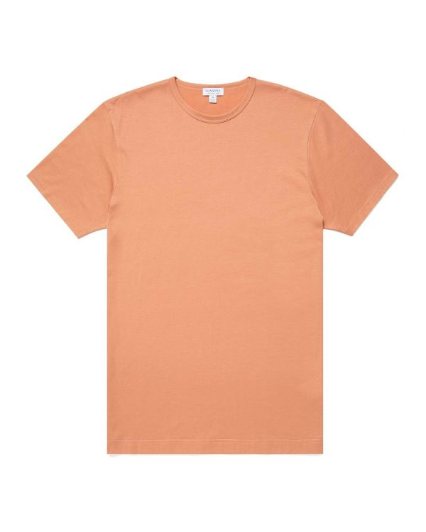 Men's Classic Cotton T-Shirt in Clay