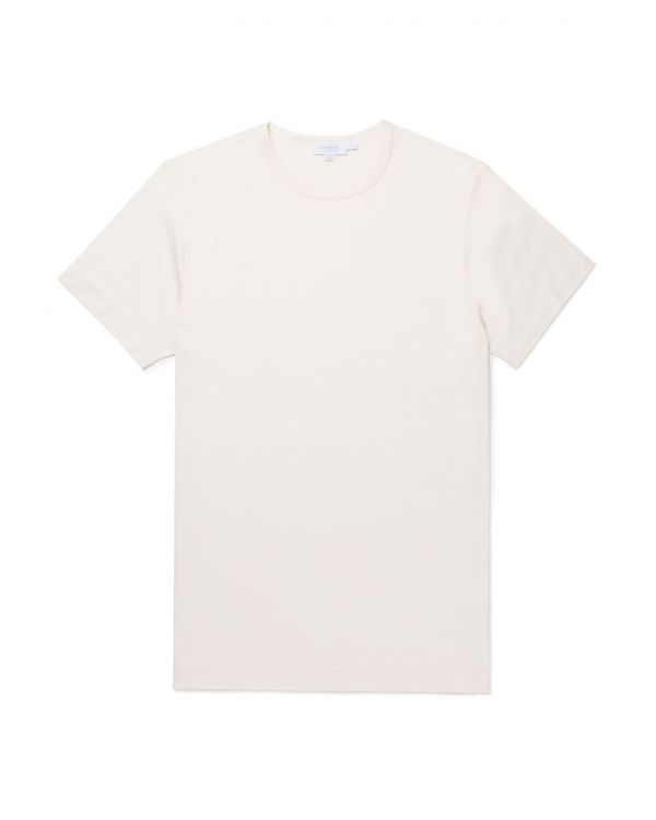 Men's Classic Cotton T-Shirt in Archive White