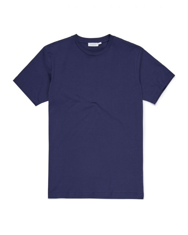 Men's Cotton Riviera T-Shirt in Masonry Blue