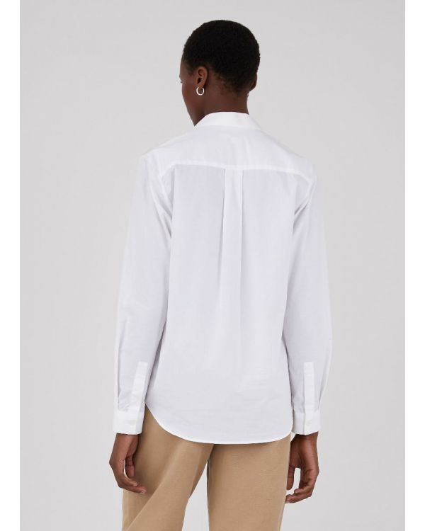 Women's Cotton Shirt in White