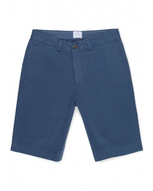Men's Cotton Twill Chino Short in Pewter