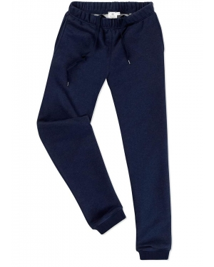 Women's Cotton Loopback Track Pant in Navy Melange