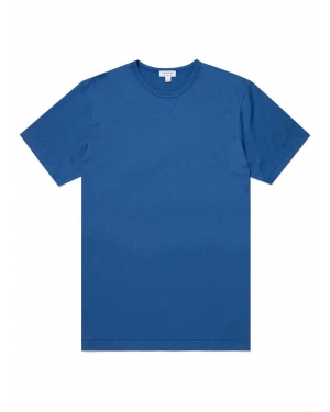 Men's Classic Cotton T-Shirt in Ink
