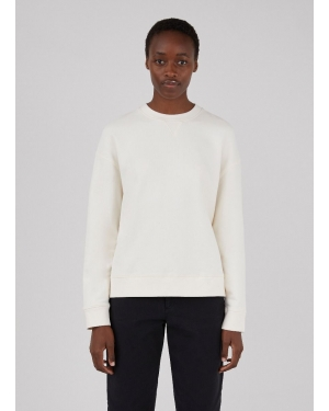 Women's Cotton Loopback Relaxed Sweatshirt in Archive White