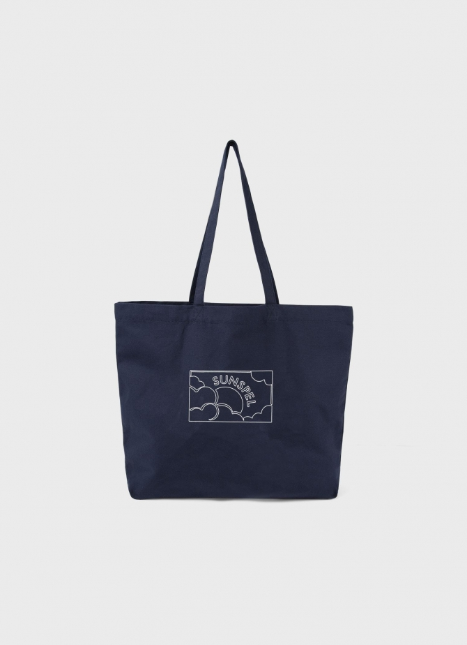 Canvas Tote Bag in Navy