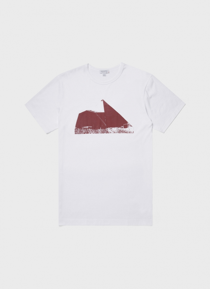 Kate Gibb and Sunspel Printed T-shirt