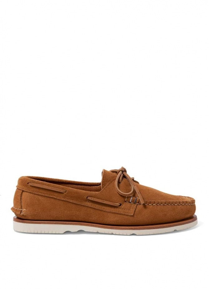 Sunspel and Sperry Suede Boat Shoe