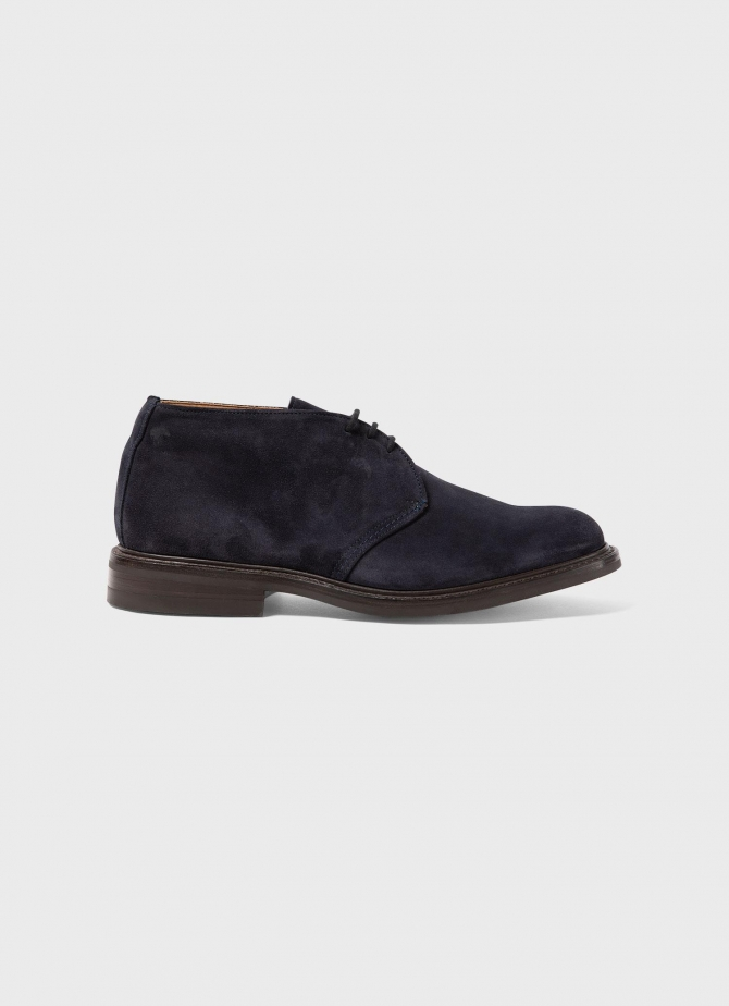Sunspel and Trickers Suede Ankle Boot