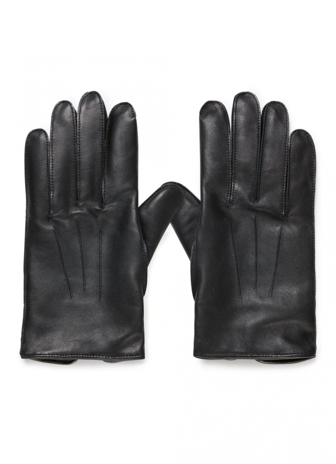 Sunspel and Dents Leather Gloves