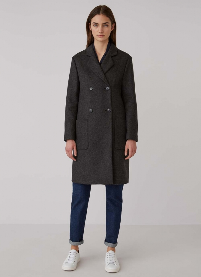 Double Breasted Polo Coat