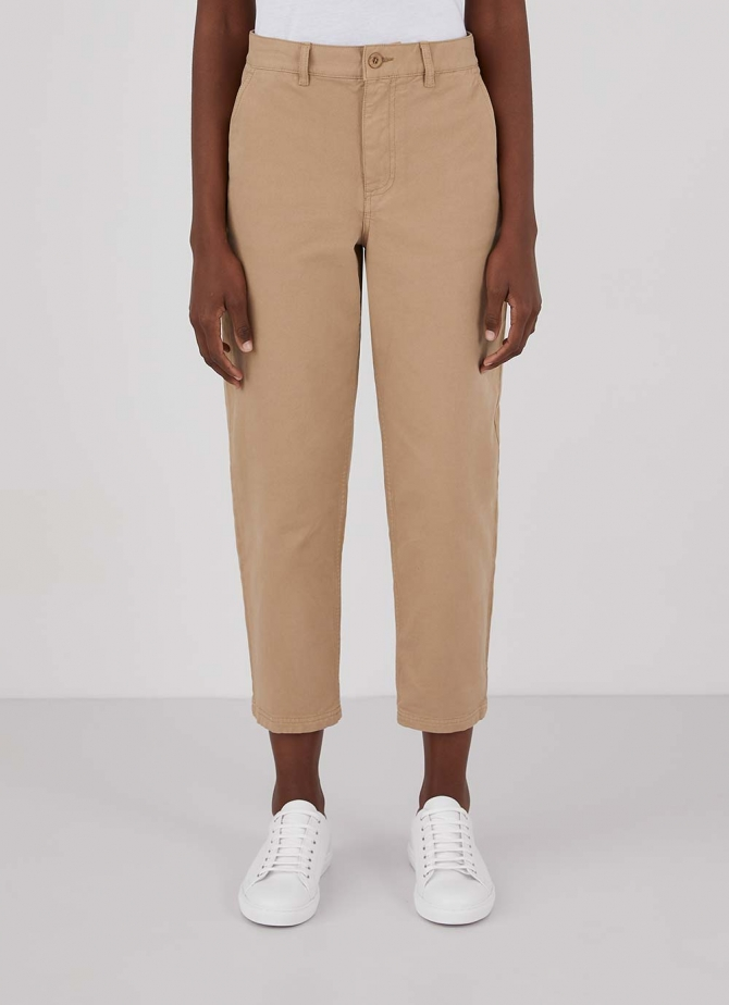 Cotton Tapered Trouser