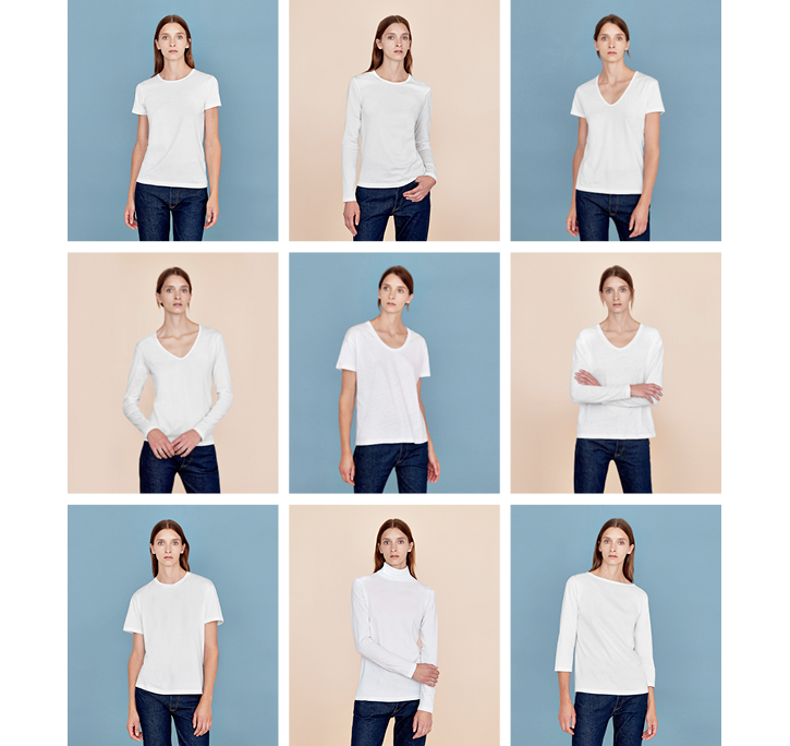 The Essential T-Shirt Collection - The Perfect Nine